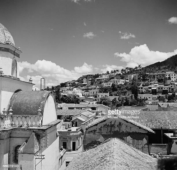 A landscape view of Tegucigalpa Honduras