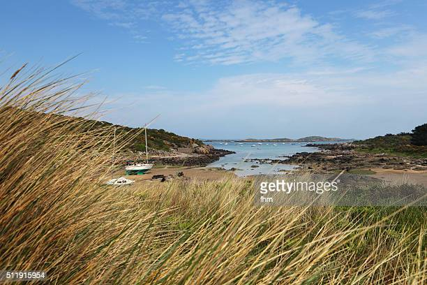 Landscape view on Chausey, France Normandy