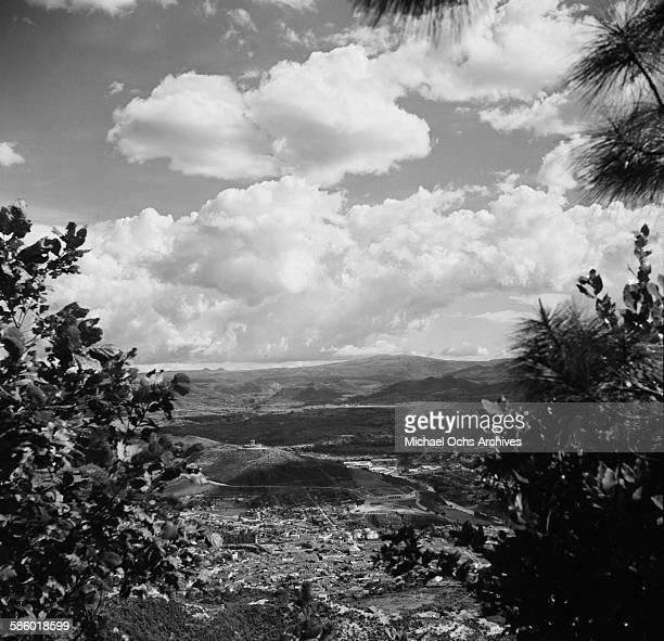 A landscape view over Tegucigalpa Honduras