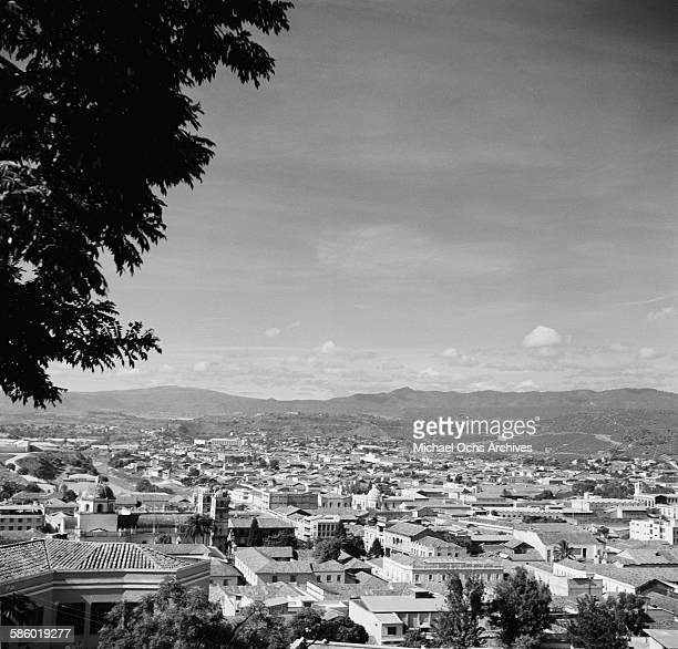 A landscape view over the Capital of Tegucigalpa Honduras