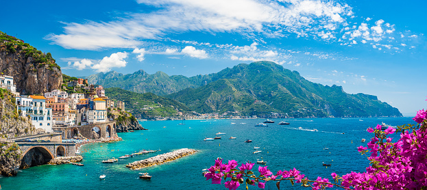 Landscape with Amalfi coast 1158754142
