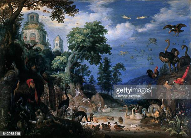 Landscape with Birds by Roelant Savery