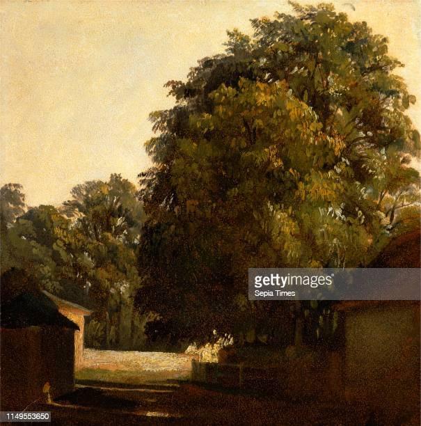 Landscape with Chestnut Tree, Peter DeWint, 1784-1849, British
