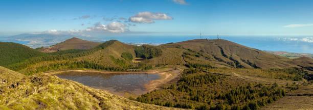 Landscape With Lake And Mountains, Serra Devassa, Sao Vicente, Portugal