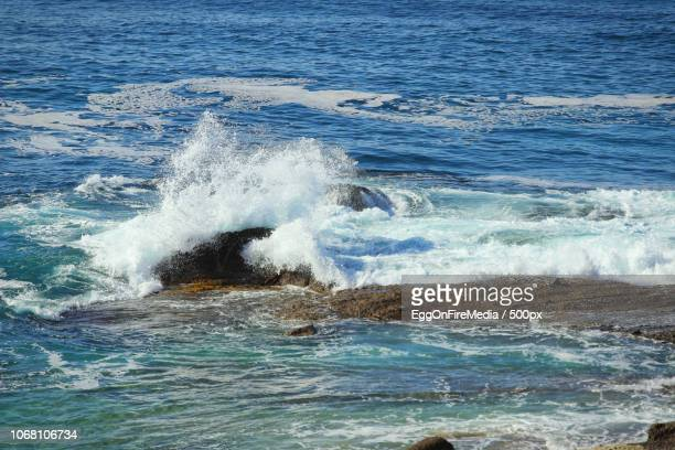 landscape with pacific ocean - laguna beach california stock pictures, royalty-free photos & images