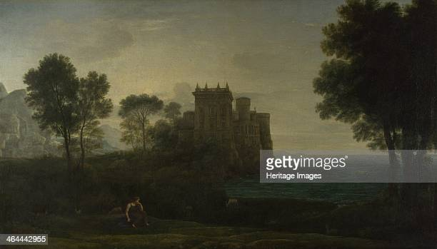Landscape with Psyche outside the Palace of Cupid , 1664. Found in the collection of the National Gallery, London.
