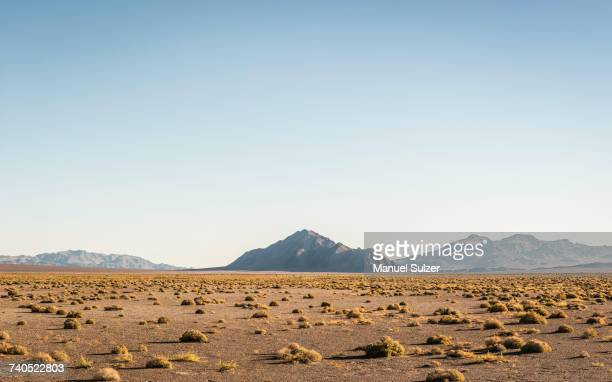 Landscape with rock formation in Death Valley National Park, California, USA