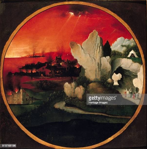 Landscape with the Destruction of Sodom and Gomorrah 1520 Artist Unknown