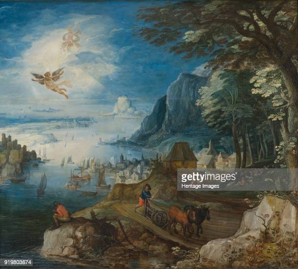 Landscape with the Fall of Icarus Found in the collection of Nationalmuseum Stockholm