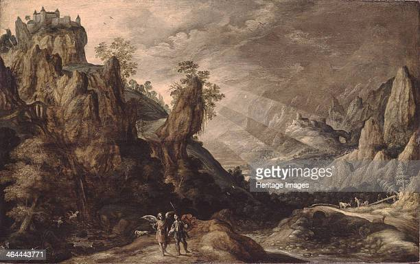 Landscape with Tobias and the Angel Found in the collection of the State Hermitage St Petersburg