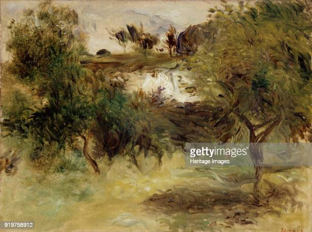 Landscape with Trees late 19th century Artist PierreAuguste Renoir