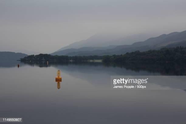 landscape with view of lake - james popple foto e immagini stock
