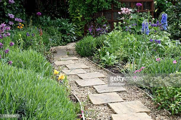 Landscaped Garden Path