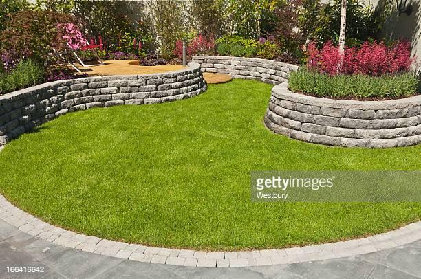 Landschaftlich gestalteten Garten