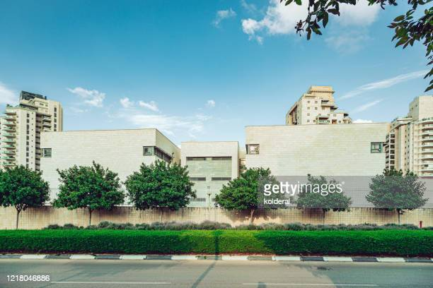 landscaped modern residential neighborhood - human settlement stock pictures, royalty-free photos & images