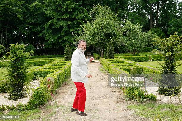 Landscaper Louis Benech attends the 'College Royal et Militaire de ThironGardais' Exhibition Rooms Inauguration on June 10 2016 in Thiron Gardais...