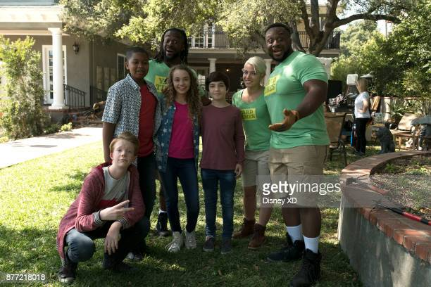 PRANK 'Landscaper' WWE Hall of Famers Diamond Dallas Page and Sting along with WWE Superstars Big E Kofi Kingston and Alexa Bliss join the cast of...