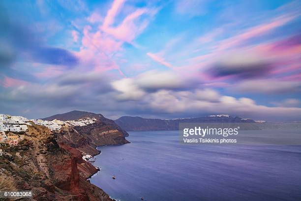 Landscapes and details from the island of Santorini