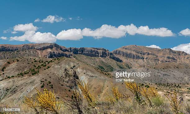 landscapes around sivas in central anatolia - sivas stock pictures, royalty-free photos & images
