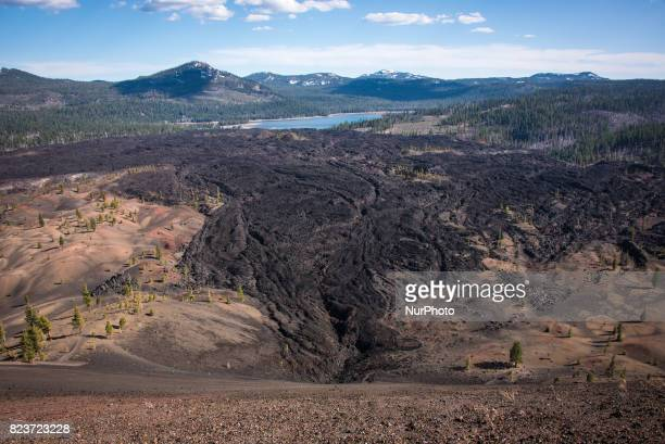 Landscapes, geological formations and natural scenes in Lassen Volcanic National Park in Northern California, USA. Photos taken between 1-2 May 2015.