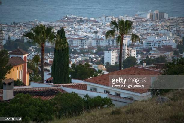 Landscapes of Coastal Views Overlooking Malaga Province