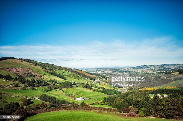 Landscapes of Dunedin, New Zealand