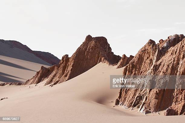 landscapes of the atacama desert - rock formation stock pictures, royalty-free photos & images
