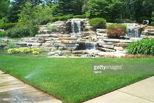 Landscaping - water fall