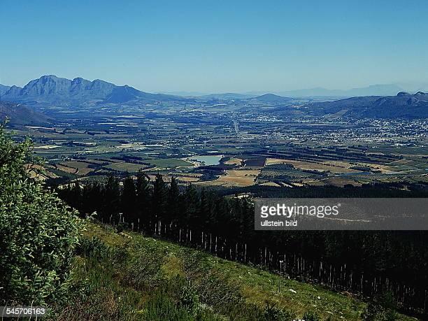 Landschaft im Hinterland von Kapstadt - o.J.