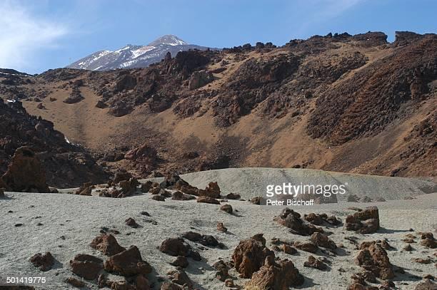Landschaft im Nationalpark Teide KanarenInsel Teneriffa Spanien Europa Reise BB DIG PNr 149/2005