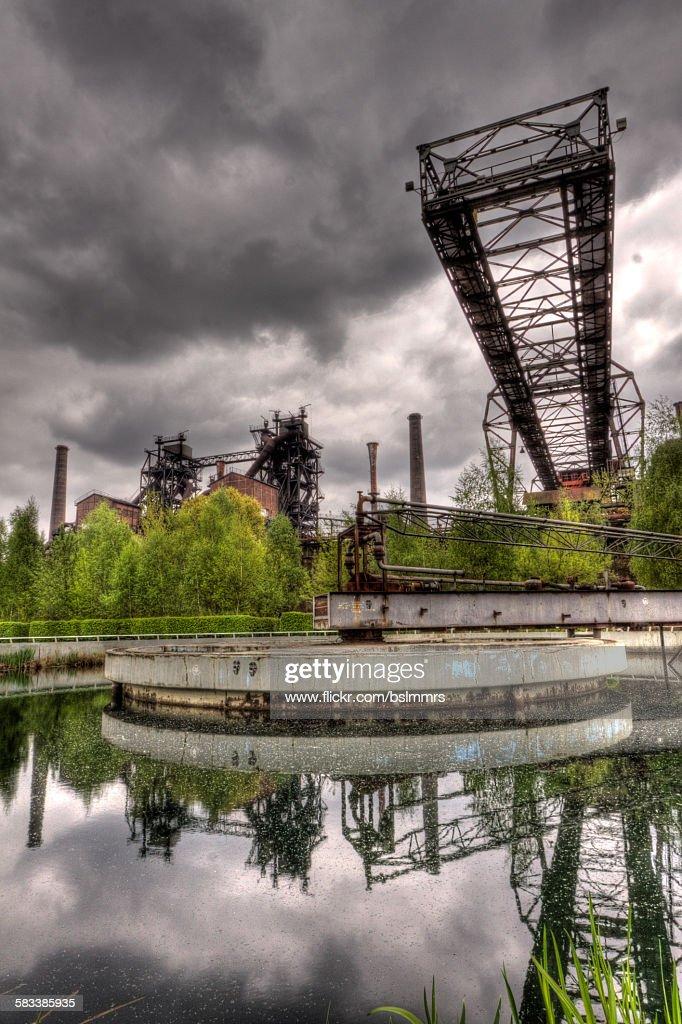 Landschaftspark Duisburg : Stock Photo
