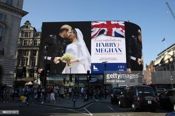 Landsec the owners of Piccadilly Lights lead the celebrations in London by filling the largest single display screen in Europe with a message to the...