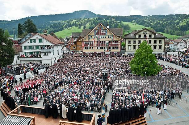 Landsgemeinde in Appenzell, Schweiz