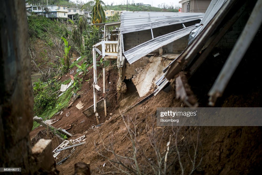 One Month After Maria, A Crisis Still Rages In Rural Puerto Rico : News Photo