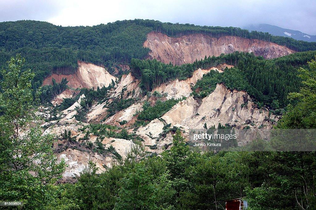 7.2 Magnitude Earthquake Hits North Japan : News Photo
