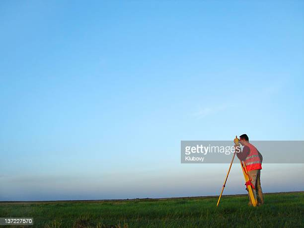 land-surveyor - survey stock photos and pictures