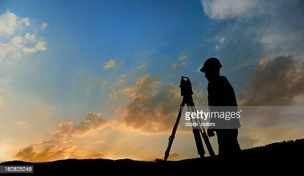 land-surveyor - topography stock pictures, royalty-free photos & images