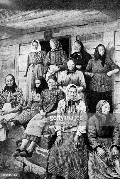 Landworking women East Prussia 1922 From Peoples of All Nations Their Life Today and the Story of Their Past volume IV Georgia to Italy edited by JA...
