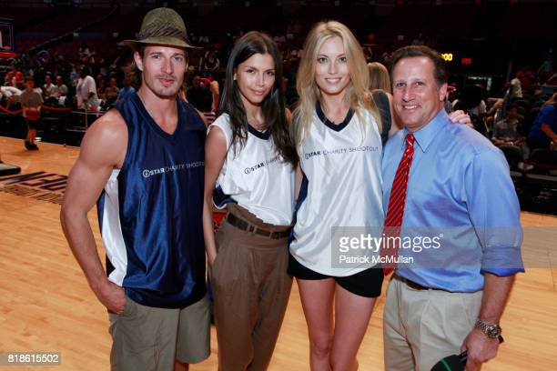 Lane Carlson Alejandra Cata Jennifer Ohlsson and Bruce Beck attend 8th Annual iStar Charity Shootout at Madison Square Garden on June 21 2010 in New...