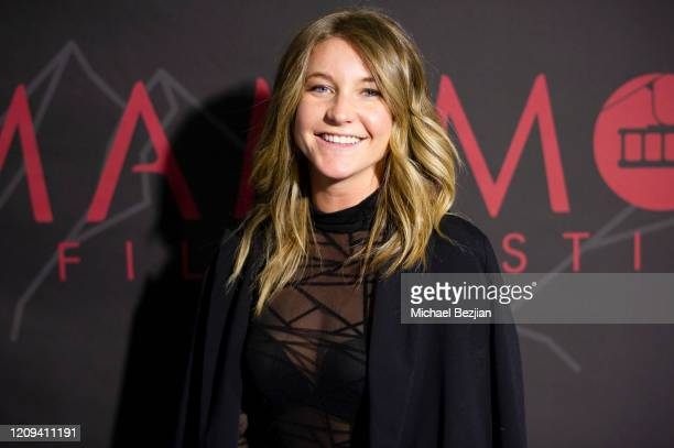 Lane Cheek arrives at the 3rd Annual Mammoth Film Festival Red Carpet Friday on February 28 2020 in Mammoth Lakes California