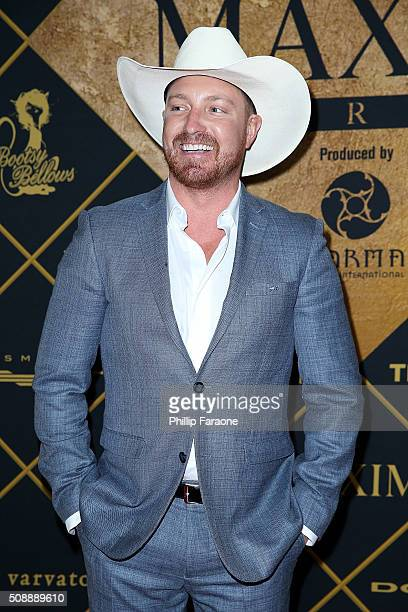 Lane Garrison attends Maxim Magazine and Bootsy Bellows Super Bowl Party 2016 at Treasure Island on February 6 2016 in San Francisco California