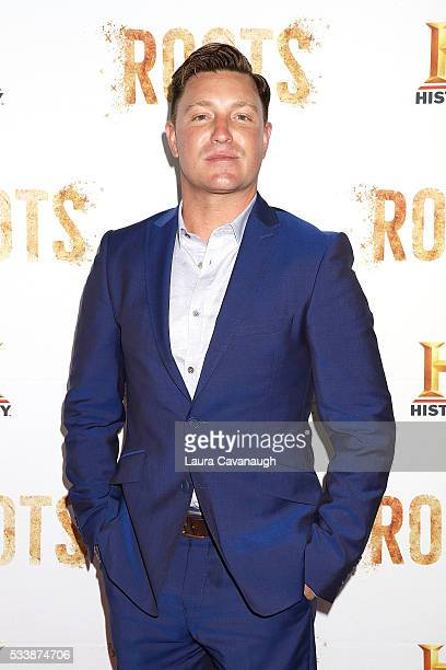 """Lane Garrison attends """"Roots"""" Night One Screening at Alice Tully Hall, Lincoln Center on May 23, 2016 in New York City."""