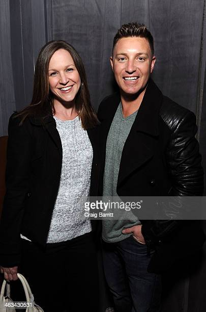 Lane Garrison attends the Camp XRay after party hosted by The Snow Lodge x Eveleigh on January 17 2014 in Park City Utah