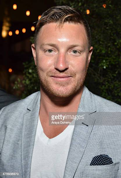 Lane Garrison attends the Grand Opening Of Le Jardin on June 4, 2015 in Hollywood, California.