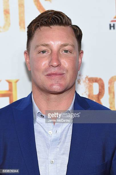 Lane Garrison attends the Roots night one screening at Alice Tully Hall Lincoln Center on May 23 2016 in New York City