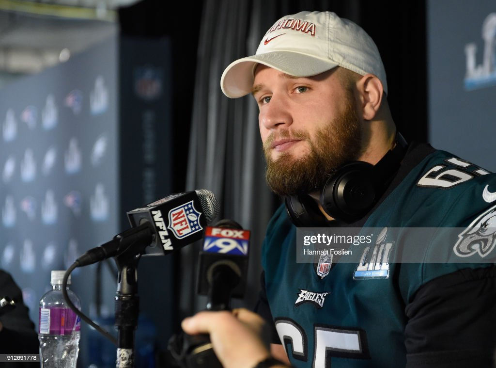 Super Bowl LII - Philadelphia Eagles Media Availability : ニュース写真