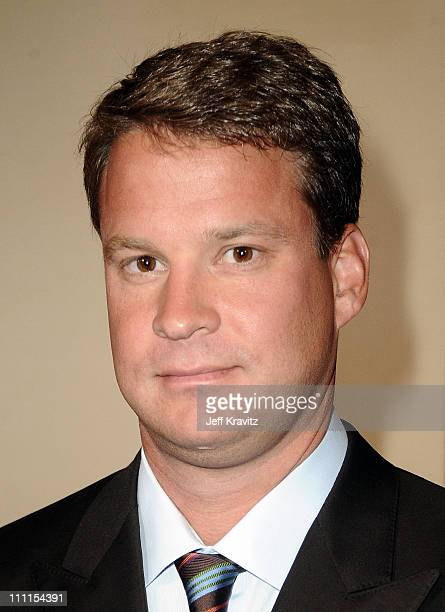 Lane Kiffin arrives at the 25th Anniversary Of CedarsSinai Sports Spectacular held at Hyatt Regency Century Plaza on May 23 2010 in Century City...