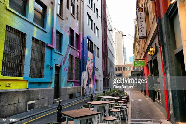 A laneway in Adelaide
