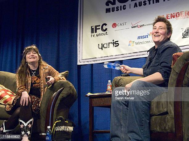 KD Lang during 20th Annual SXSW Film and Music Festival KD Lang Interview in Austin Texas United States