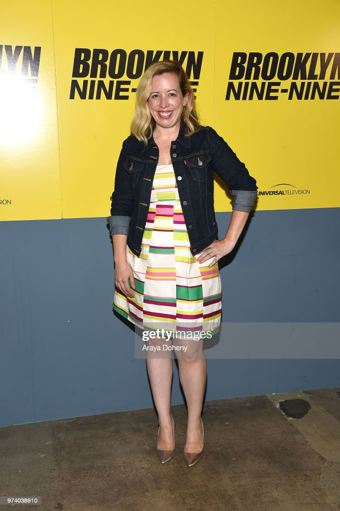 Lang Fisher attends Universal Television's FYC @ UCB 'Brooklyn Nine-Nine' at UCB Sunset Theater on June 13, 2018 in Los Angeles, California.